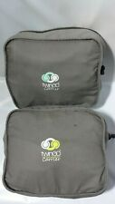 As Is -TwinGo Original Twin Baby Carrier - Grey, Green, and Yellow