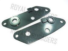 ROYAL ENFIELD NEW REAR ENGINE PLATES 350CC(PAIR) (code 1846)