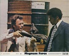 MAGNUM FORCE/DIRTY HARRY original photo CLINT EASTWOOD color lobby still