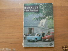 RENAULT R8 AND DAUPHINE,ENGINE,ELECTRIC,CLUTCH ETC
