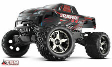 Traxxas 67086-3 Stampede 4X4 VXL Monster Truck Ready-To-Race Trucks (1/10