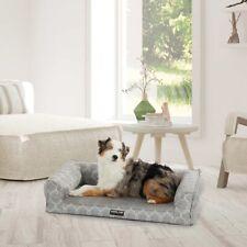 New listing Kirkland Signature 24 x 36 Dog Sofa Bed, Memory Foam Topper for Comfort, Gray