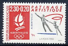 STAMP / TIMBRE FRANCE NEUF N° 2633 ** SPORT ALBERVILLE PATINAGE