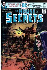 The House of Secrets #134 Bronze Age DC Comics Horror 1975-ORIGINAL OWNER
