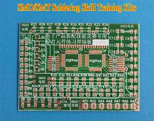 SMD/SMT Components Practice Board DIY Kit Soldering Skill Training For Beginner