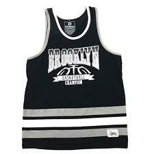 63545ab4fe1079 VINTAGE Southpole BROOKLYN Spell Out Tank Top Mens Extra Large 1X XL New  York