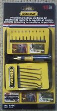 New General PRECISION SCREWDRIVER and PROBE SET 18 Pieces. Retail Item # 63517