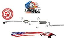 New Exhaust System MADE IN USA for Jeep CJ7 4.2L 85-86 w/o AirTube in Converter
