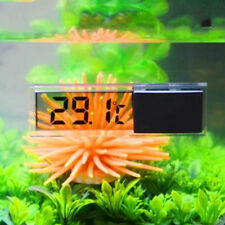Digital LCD Fish Reptile Aquarium Tank Temp Water Marine Temperature Thermometer