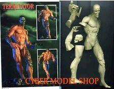 "9""T 800 Terminator Naked body Sci-Fi Movies Resin Model Kit 1/9"