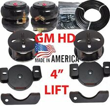 "B ChassisTech GM HD Tow Assist AirBag Overload Suspension Airride  4"" LIFTED"