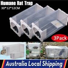 3PCs Humane Rat Trap Cage Animal Pest Rodent Mice Mouse Control Live Bait Catch
