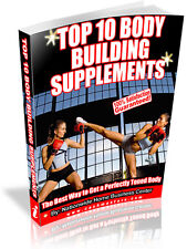 TOP 10 BODY BUILDING SUPPLEMENTS PDF EBOOK FREE SHIPPING RESALE RIGHTS