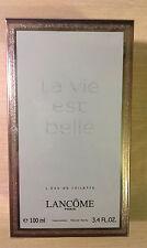 Lancome La Vie Est Belle 3.4 oz 100 ml Women's Eau de TOILETTE Spray Sealed New