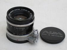 "Alpa Kern-Macro-Switar 50mm f:1.8 lens with caps, #1063968 NICE ""LQQK"""