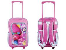 Dreamworks Trolls Children's Trolley Bag - Trolls Backpack