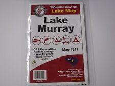 Kingfisher Map,Lake Murray GPS Compatible, Marina Listings, etc...