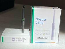Lot of 2-Dentsply Sirona Cerec Shaper 25RZ Bur Opened pkg Dentistry