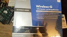 Wireless Business Series VPN Router w/range booster (WRV200)