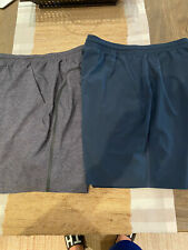 Lululemon Shorts Sz L Lot Of 2 Navy & Grey