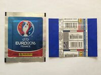 POCHETTE PANINI EURO 2016 FRENCH BLUE PACKET TUTEN BUSTINA PRICE BARCODE