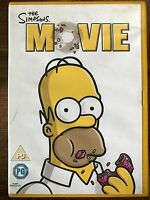 The Simpsons Movie DVD 2007 Family Comedy Feature Film Classic