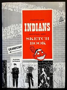 1950 Cleveland Indians Official Sketch Book