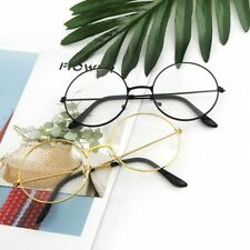 Round Plain Clear Glasses Women Eyewear BH Spectacle Optical Prescription