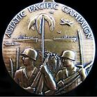 WW2 U.S. ASIATIC PACIFIC CAMPAIGN MEDAL AWARDED FOR FIGHTING JAPANESE FORCES