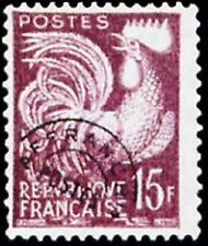"""FRANCE PREOBLITERE TIMBRE STAMP N° 112 """" TYPE COQ GAULOIS 15F """" NEUF x TB"""