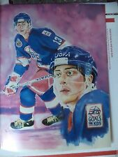 Teemu Selanne Winnipeg Jets MAGAZINE CUTOUT THICK PICTURE COOL FOR FRAMING