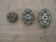 Cool Lot of (3) Antique Original Small Ornate Steampunk Handles