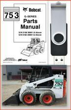 Bobcat 753 G Series Skid Steer Loader Illustrated Parts Manual On Usb 6900984