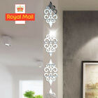 10x Mirror Flower Wall Sticker Acrylic Mural Decal Wall Home 3d Decor Removable