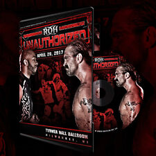 Official ROH Ring of Honor - Unauthorized 2017 Event DVD
