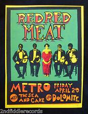 STEVE WALTERS-RED RED MEAT-Artist Signed Silkscreen Poster-Screwball Press