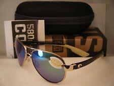 Costa Loreto Rose Gold w Green 580P lens NEW Sunglasses (LR64 OGMP)