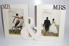 MR & MRS White Photoframe