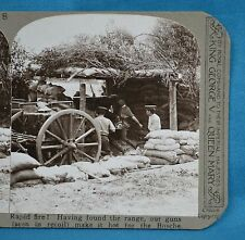 WW1 Stereoview Rapid Fire Artillery Guns In Recoil Realistic Travels