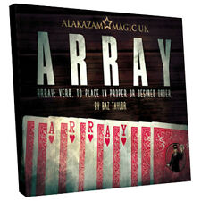 Array (Gimmick and DVD) by Baz Taylor and Alakazam Magic