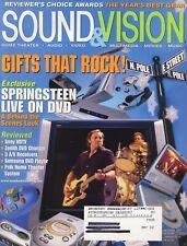 Sound & Vision Mag Dec 2001 Denon AVR-2802, Pioneer VSX-D850S, Sony STR-DB1070