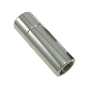 Zylinderförmiger Magnet-Verschluss aus Edelstahl für Ketten und Armbänder