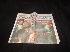 New York Daily News July 8 2009 Michael Jackson Funeral Tribute Full Newspaper