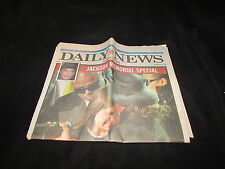 New York Daily News July 8 2009 Michael Jackson Funeral Tribute Full Newspaper