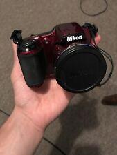 Nikon COOLPIX L820 16.0MP Digital Camera - Red