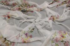 100% Natur Seide Chiffon Maulbeeren Soft Druck Kleid Schal Umhang Nachtkleid