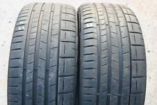 PAIR OF PIRELLI P-ZERO 225/35/ZR19 88Y TYRES MCLAREN PNCS MC 5.9MM & 6.6MM