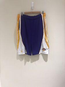 Basketball NBA LA Lakers Shorts Adidas Size Medium