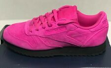 REEBOK CLASSIC LEATHER RIPPLE   WOMEN'S SIZE 7   PINK   ATHLETIC SHOES   FV5498