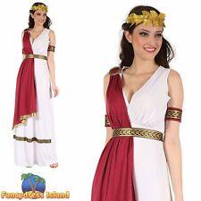 GREEK GODDESS ROME ROMAN TOGA UK 10-14 Womens Ladies Fancy Dress Costume
